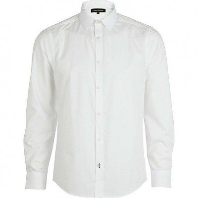 Casual Shirt plain White